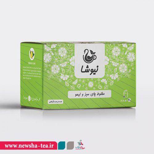 برای خرید مخلوط چای سبز و لیمو نیوشا یر روی عکس کلیک کنید