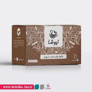 برای خرید مخلوط چای سیاه و دارچین نیوشا بر روی عکس کلیک کنید