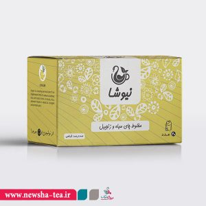 برای خرید مخلوط چای سیاه و زنجبیل نیوشا بر روی عکس کلیک کنید