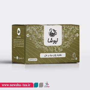 برای خرید مخلوط چای سیاه و هل کیسه ای نیوشا بر روی تصویر کلیک کنید