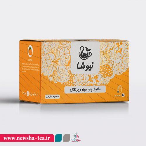 برای خرید مخلوط چای سیاه و پرتقال نیوشا بر روی عکس کلیک کنید
