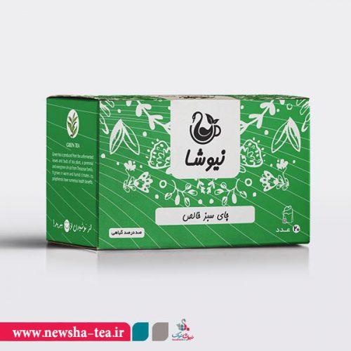 چای سبز کیسه ای نیوشا
